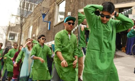 PAKISTAN AWARENESS WEEK FESTIVAL – FLASH MOB, BHANGRA, BUS RIDE – London School of Economics