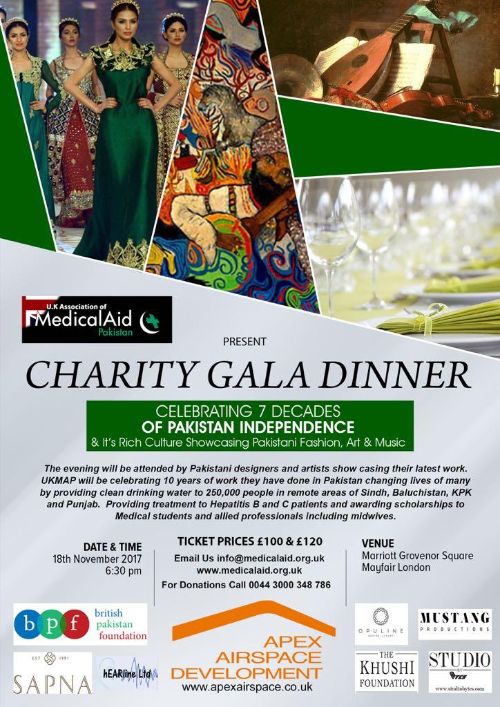 BPF Supports – UK Medical Aid Charity Gala Dinner