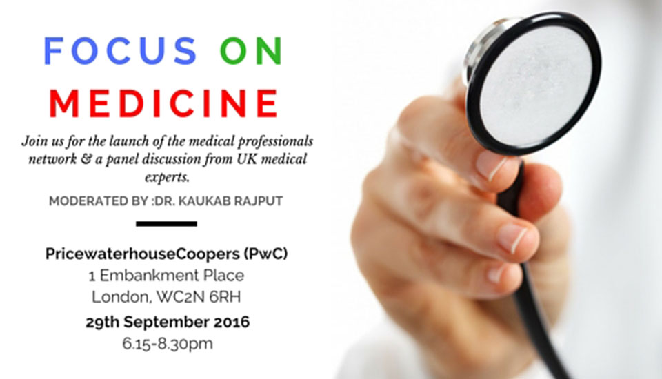Focus on Medicine, Panel Discussion, PwC