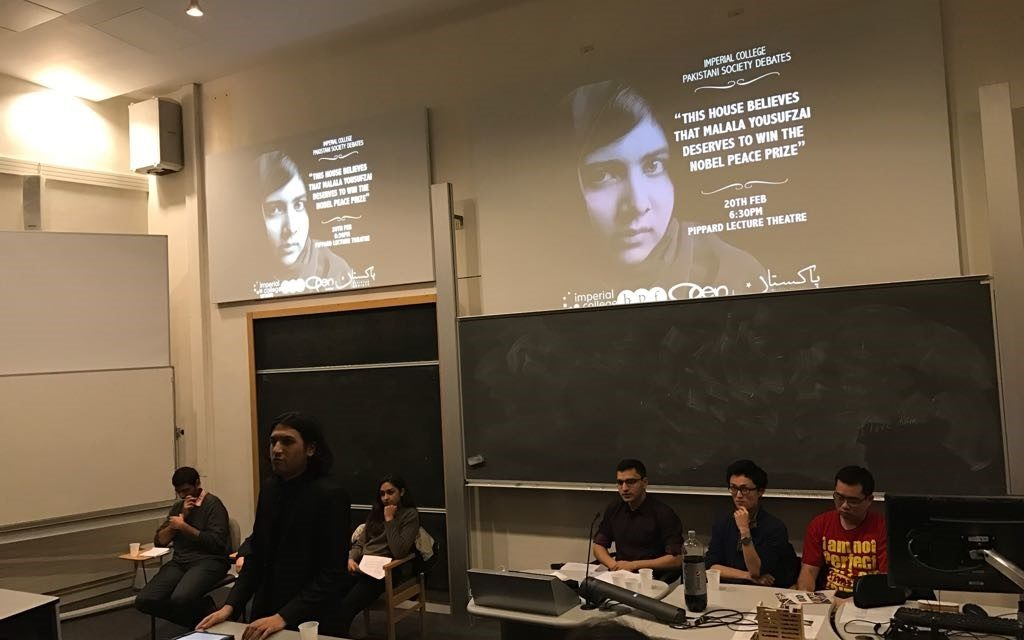 BPF YOUNG PROFESSIONALS PROGRAMME: IMPERIAL PAKISTAN SOCIETY MALALA DEBATE–  IMPERIAL COLLEGE