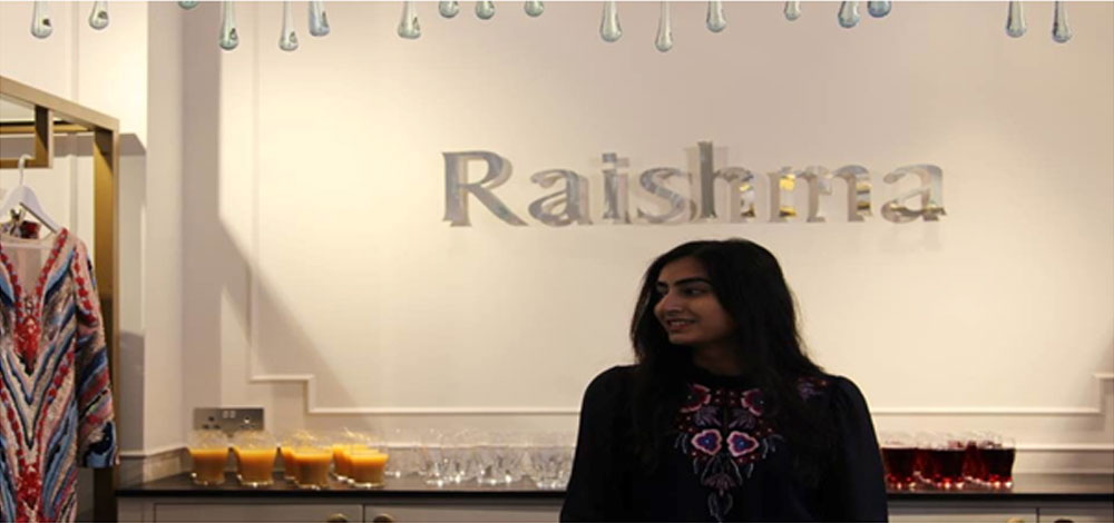 Raishma wins best online retailer award at the British Small Business Awards 2017