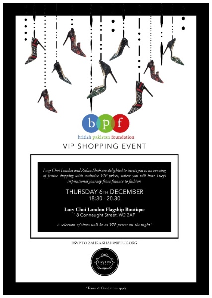 """BPF Partners with Lucy Choi for an """"Inspirational Evening with Lucy"""""""