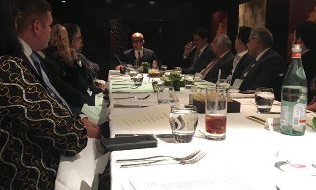 BPF Patrons Lunch meeting with guest speaker Aneel Mussarat