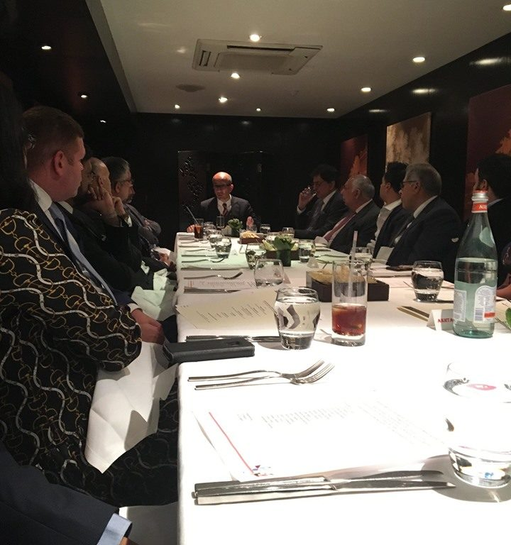 BPF Patrons Lunch meeting with guest speaker Aneel Mussarat