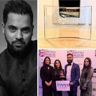 Winner ofAchievements in Law Award –Sahar Farooqi