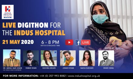 Live Digithon for Indus Hospital