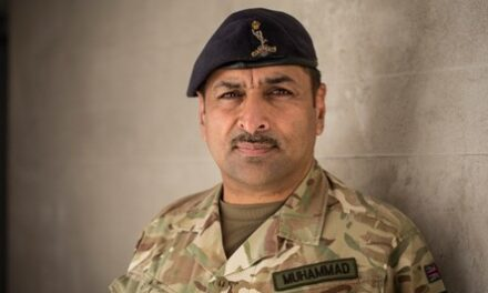 Major Naveed Muhammad MBE-September 2020