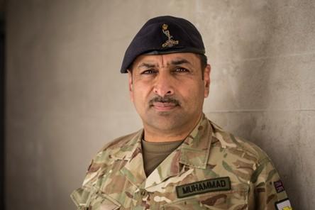 Major Naveed Muhammad MBE-September 2020
