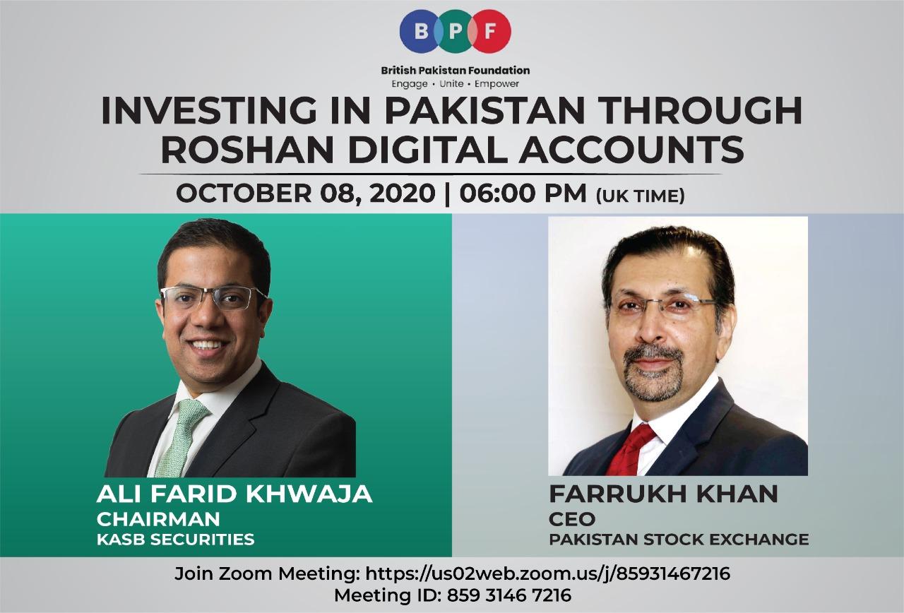 BPF Webinar: Investing In Pakistan Through Roshan digital accounts