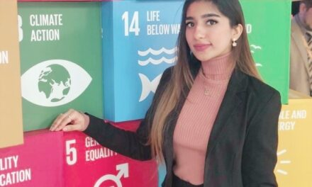Pakistani student: Aliza Ayaz has been appointed as the United Nations Youth Envoy for Sustainable Development Goals