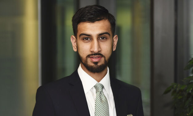 Asad Aamir Ansari recognised being a Freeman for the City of London