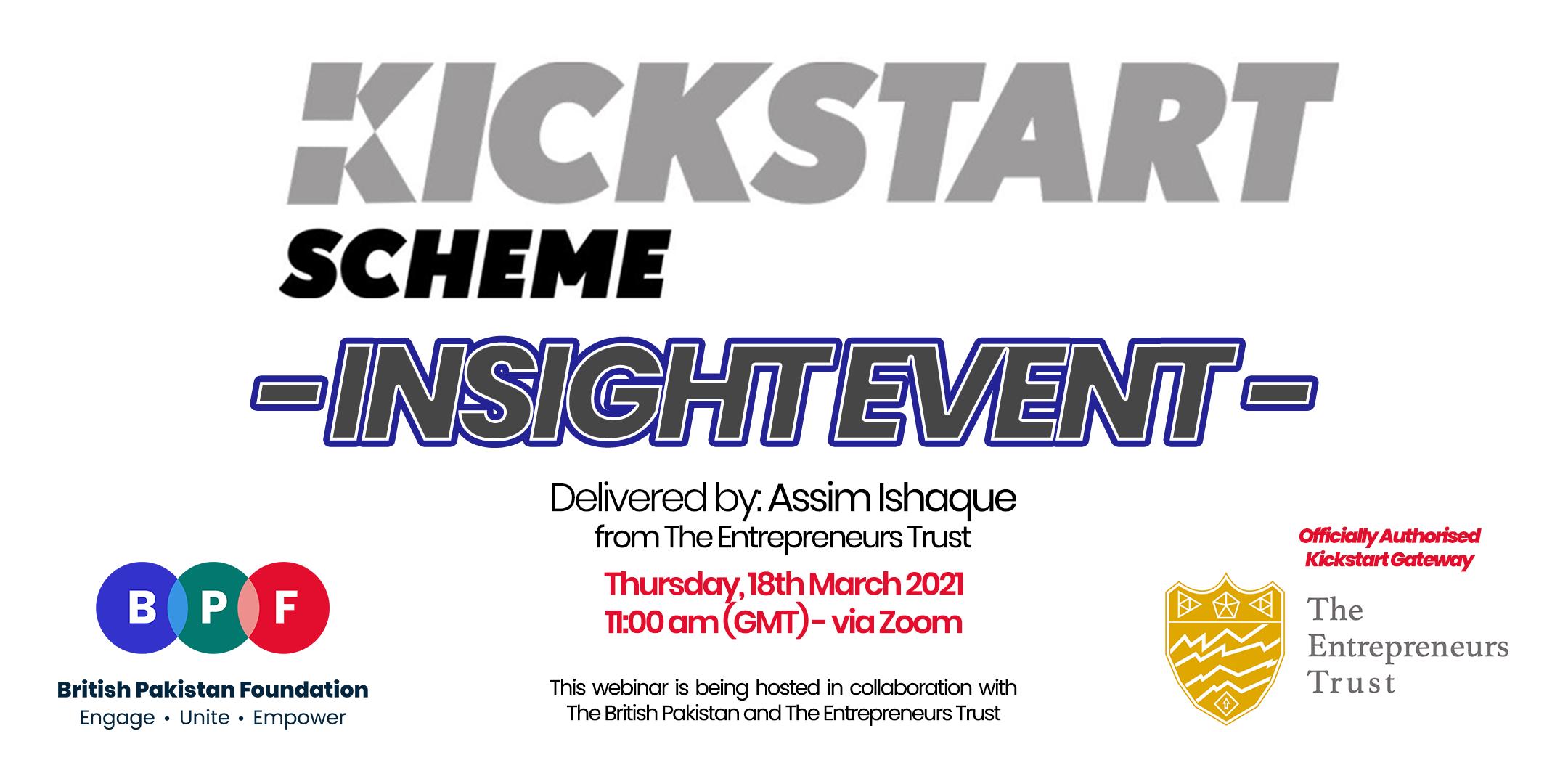 Kickstart Scheme Insight Event