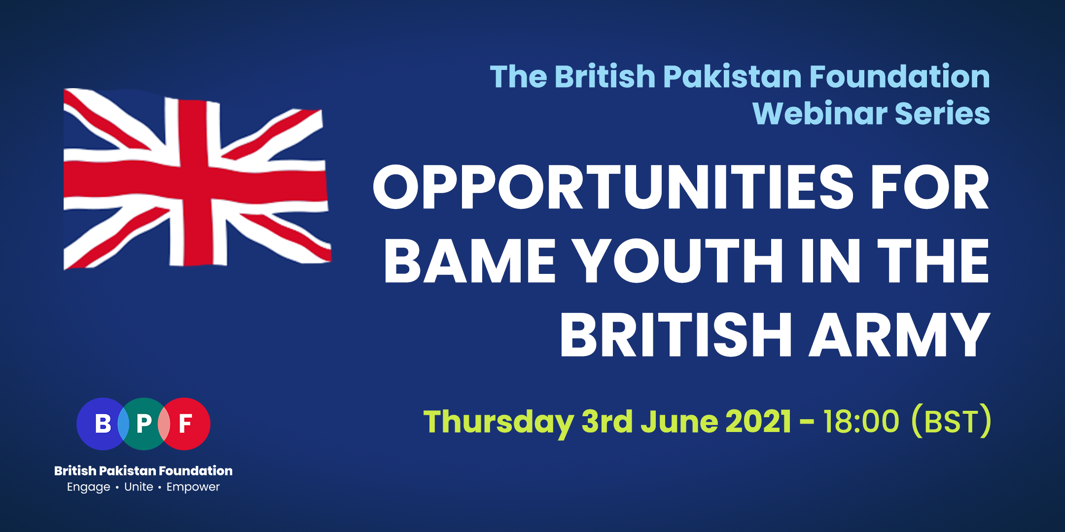 Opportunities for BAME youth in the British Army
